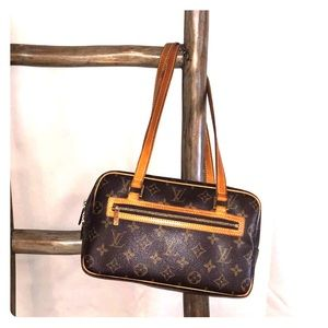 Louis Vuitton Monogram Cite MM Shoulder Bag